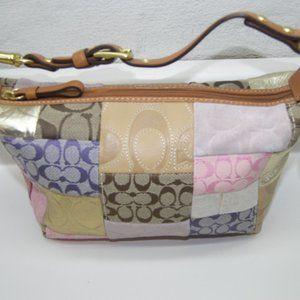 Coach Patchwork Mini Handbag L0769-41214 Stunning